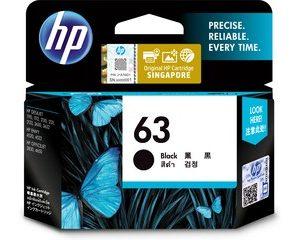 HP Ink Cartridge 63 Black