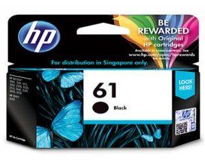 HP Ink Cartridge 61 (Black)