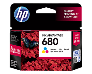 HP Ink Cartridge 680 Tri-Color