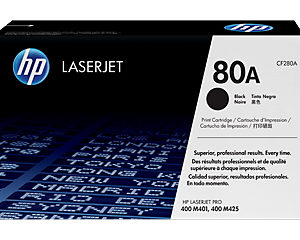 HP Toner Cartridge 80A
