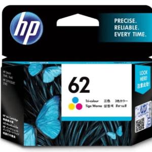 HP Ink Cartridge 62 Tri-Color